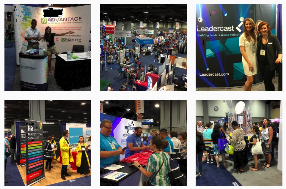 """Social"" Rhonda from HRmarketer took hundreds of great shrm16 photos"
